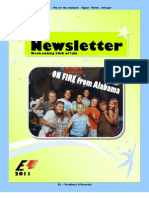 Newsletter Week 7 2011