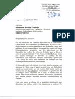 Acolfutpro denuncia ante Coldeportes el pacto discriminatorio de los clubes que vulnera los derechos de los futbolistas / Página 1