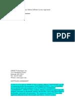 OPNET IT Guru Academic Edition Software License Agreement