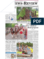 Vilas County News-Review, Aug. 3, 2011