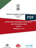 IMNCI Training Modules 1-9