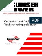 Copy of Tecumseh.carburetor.identification.troubleshooting.and.Service