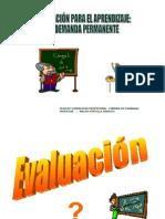 EvoluciÓn de La EvaluaciÓn2