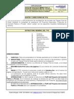 Requisitos Metod. Min. Para La Present. TFG - Proyectos Inversion Publicos - Privados