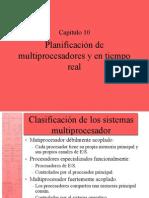 Cap10 (Planificación de multiprocesasdores y de tiempo real)