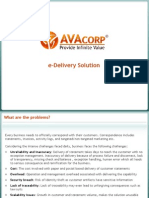 AVAcorp E-Delivery Solution