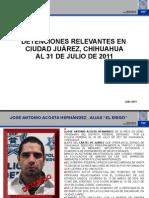 REPORTE DE AVANCES EN CIUDAD JUÁREZ PF