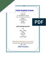 Cara Praktis Menghafal Quran