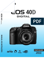 Manual CANON EOS 40D - Português
