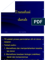 Transfusi drh