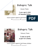 Bishopric Talk Reminders 2009
