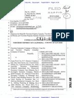 TRAVELERS INDEMNITY COMPANY OF ILLINOIS et al v. CLARENDON AMERICAN INSURANCE COMPANY et al Complaint
