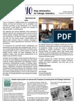 Envío nº 3 Especial Congreso Constituyente (Noviembre 2002) Falange Auténtica
