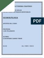 APUNTES DE GEOMORFOLOGIA
