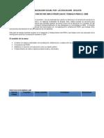 Propuesta de Trabajo 2008