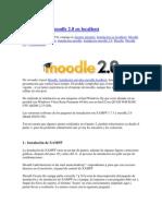 Instalacion Moodle y Xampp