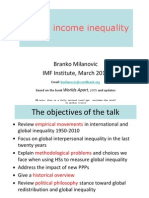 Global Income Inequality IMF 2010