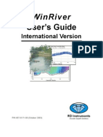 WinRiver User Guide INT_Oct03