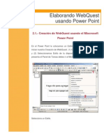 5manual Power Point Webquest