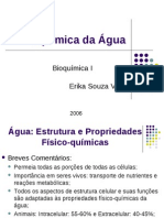 Bioquimica Da Agua ALUNOS