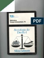 Luhmann - Sociologia Do Direito