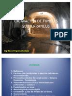 Excavacion de Tuneles Subterraneos Ponencia