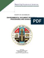 22 Environmental Document Reporting Procedures
