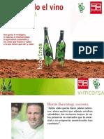 Biovinos, presentación vinos ecológicos