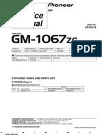 GM 1067 Amplifier