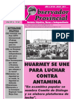 Observador Provincial Hy - Julio 2011