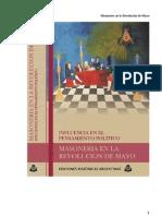 cia de La Masoneria en La Revolucion de Mayo