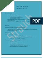 Journal of Practicum