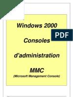08-W2000 Console MMC