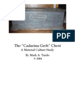The Cadarinah Greh Chest