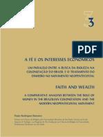 Paulo Romeiro - A Fé e os Interesses Econômicos