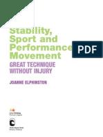 Stability - Sport Science