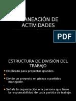 PLANEACIN DE ACTIVIDADES
