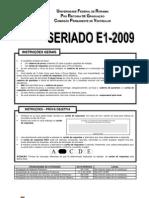 ProvaSERIADOE1-2009