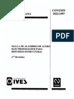 1022-97 Malla de Acero Como Refuerzo Estructural