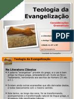 02 - teologia da evangelização - considerações gramáticais