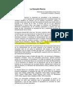 Documento Sobre La Escuela Nueva- Angela Urrego