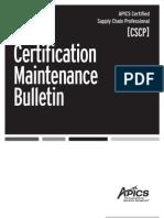 2011 CSCP Maintenance BullBW