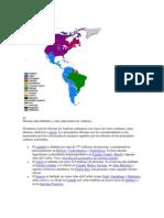 Idiomas Del Continente de America