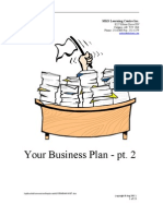 Business Plans - Part 2