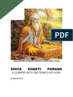 Shiva Shakti Purana (English, Illustrated)