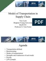 Modes of Transportation 2