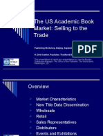 The US Academic Book Market