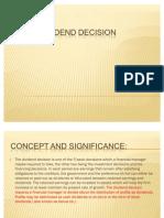 Dividend Decision