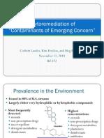 Phyto Pres Emerging Contaminants