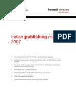 Indian Publishing Market 2007